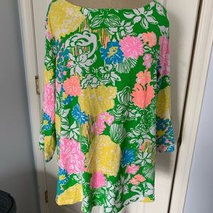 Lilly pulitzer bot neck top